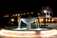 Rogers Plaza Fountain at the Conway Area Chamber of Commerce