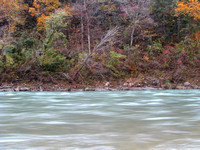 Buffalo River at Tyler Bend - Fall Color